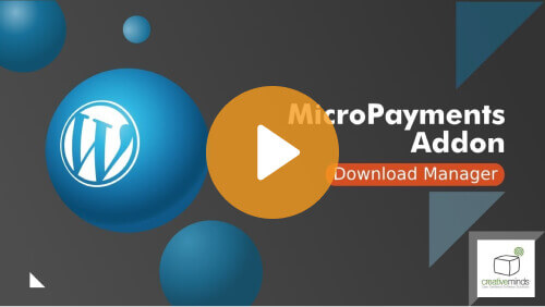 Micro Payments Addon - Enhance Your WordPress Downloads Directory With Virtual Currency! - Video Tutorial