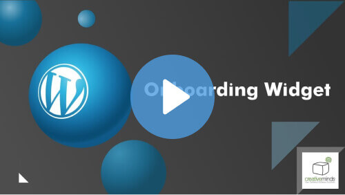 Onboarding Widget - Highlight Your Important Content With Our WordPress Onboarding Plugin