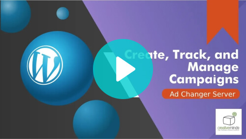 How to Manage a WordPress Advertising Campaign - Video tutorial - Creative Minds Blog