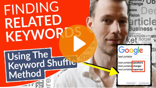 Finding Related Keywords, everybody do the Keyword shuffle! - The Keyword Finding Master Plan (for WordPress) in 9 Videos