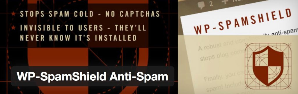 WP-SpamShield Anti-Spam - 5 Excellent Email Blacklist & Anti-Spam WordPress Plugins