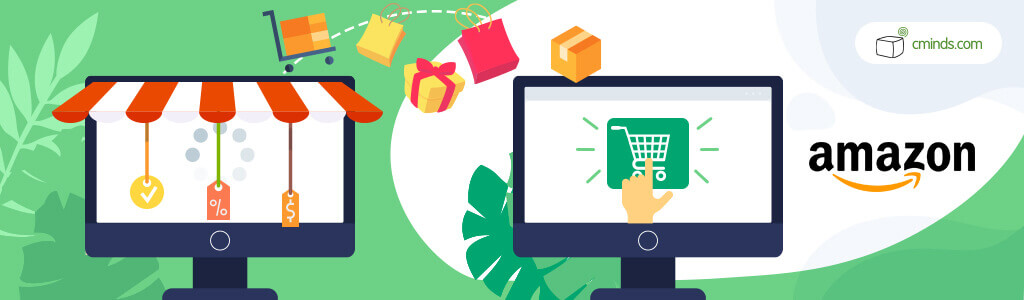 Amazon accounts for 45% of all eCommerce sales in the US - Online Shopping Statistics You Need to Know (2021)