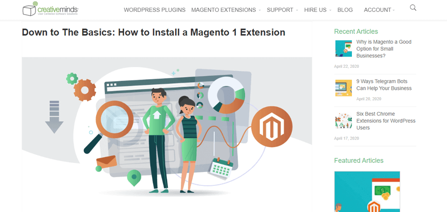 CreativeMinds - Magento Online Tutorials for Beginners and Advanced Ecommerce Users