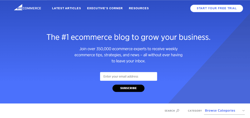 BigCommerce - Become an eCommerce Guru - The Best eCommerce Blogs in the Business