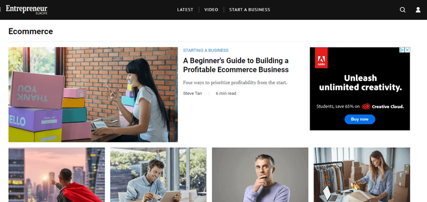 Entrepreneur - Become an eCommerce Guru - The Best eCommerce Blogs in the Business
