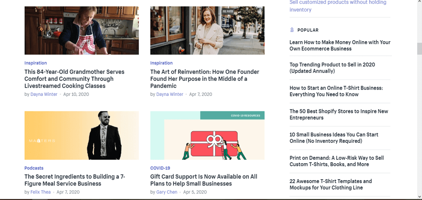 Shopify - Become an eCommerce Guru - The Best eCommerce Blogs in the Business