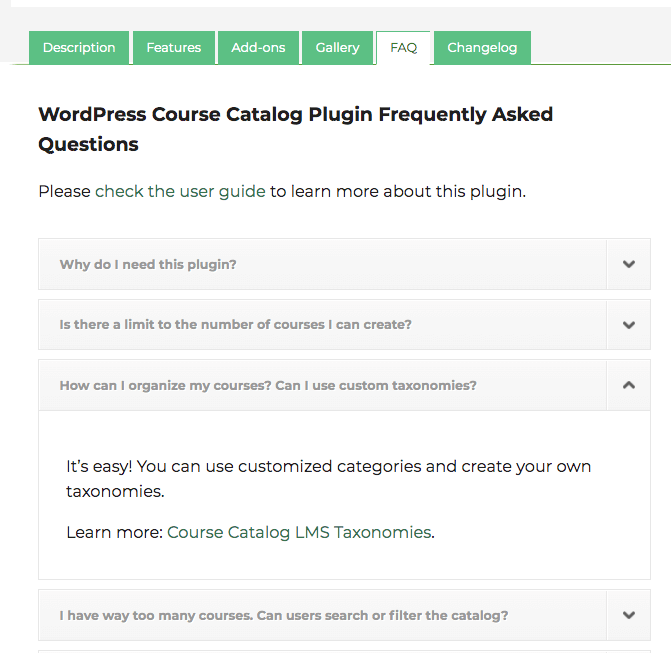 Product FAQ - WordPress Plugins Help and Tutorials by CreativeMinds