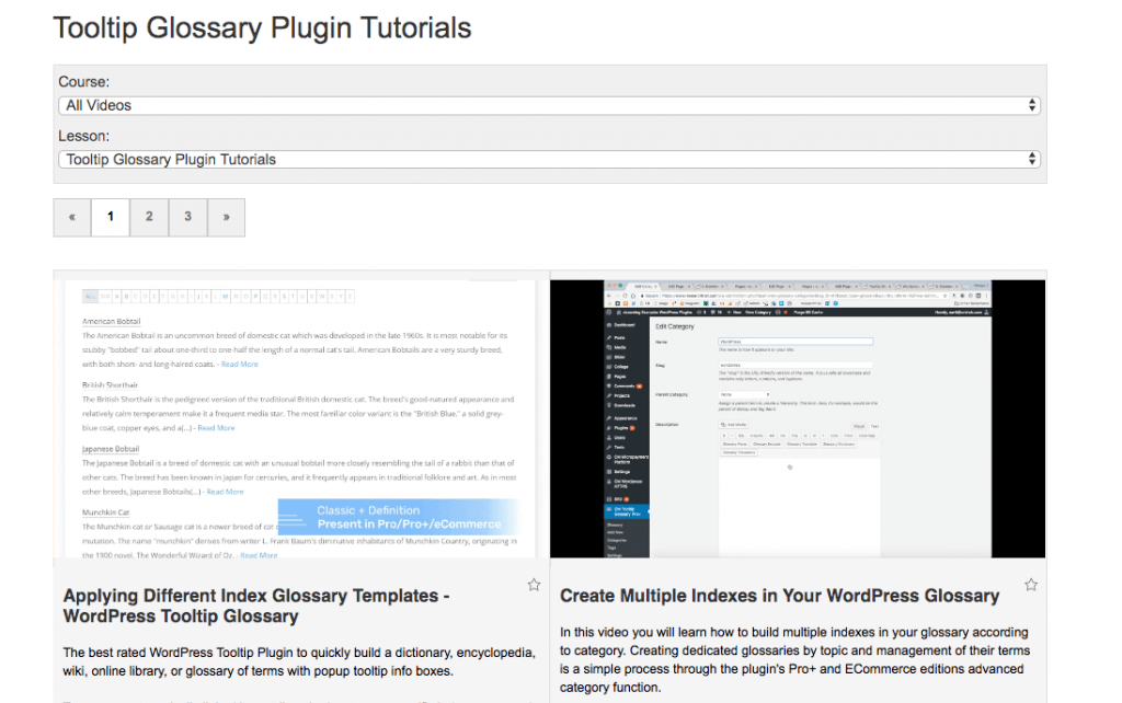 Video Tutorials - WordPress Plugins Help and Tutorials by CreativeMinds