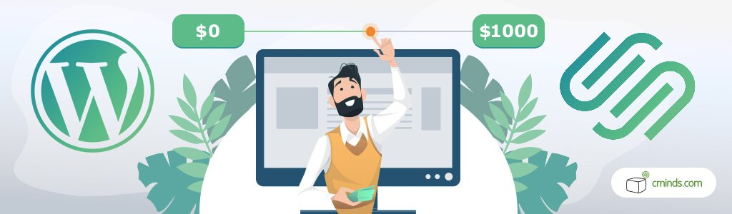 Cost - WordPress vs. Squarespace: What's The Best For You in 2020
