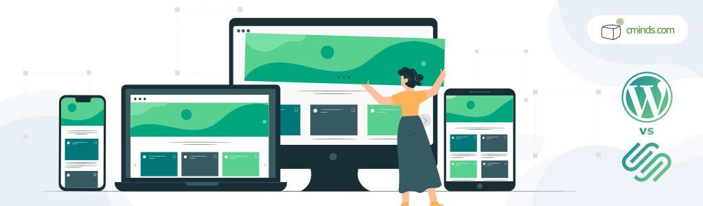 Flexibility - WordPress vs. Squarespace: What's The Best For You in 2020