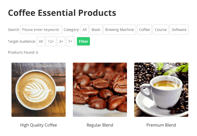 Product Directory