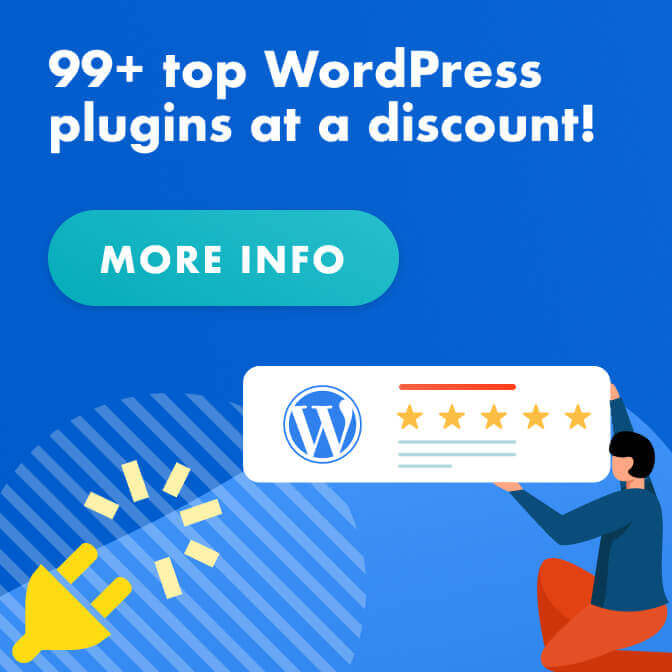 WordPress 99 plugin bundle suite banner
