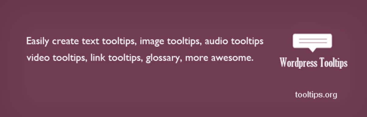WordPress Tooltips  - The 5 Best Tooltip Glossary Plugins To Explain Terms In WordPress