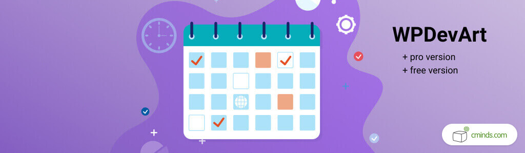 Booking Calendar by WPDevArt - 5 Best Calendar Booking Plugins for WordPress - Creative Minds blog