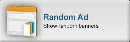 Show random banners