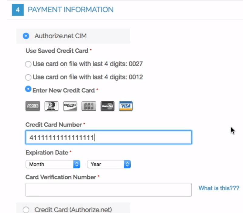 authorize-net-payment-information