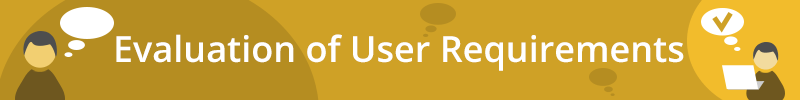 banner_evaluation of user requirements