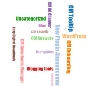 CM Blog Widget Word Cloud