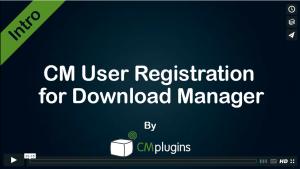 CM User Registration for Download Manager WordPress Plugin