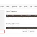 Order view - Dropship Notification Add-on