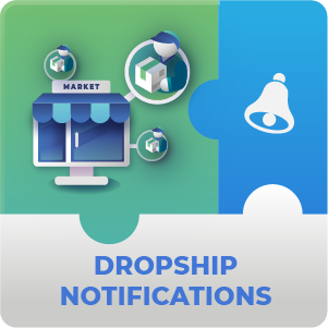 Dropship Notification  AddOn for Marketplace Magento 2