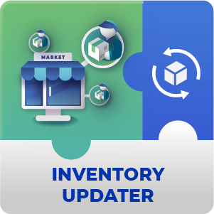 Inventory Updater AddOn for Marketplace Magento 2