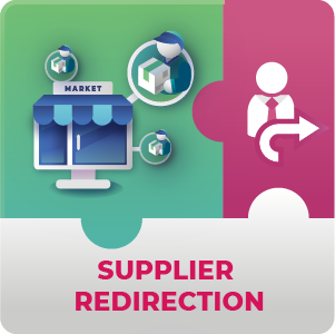 Supplier Redirection addon for Marketplace M1