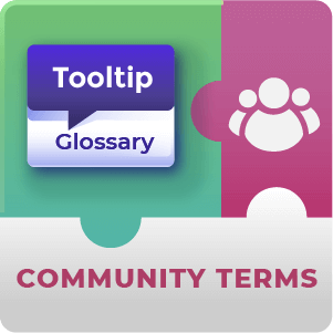 Glossary Community Terms Add-On for WordPress by CreativeMinds