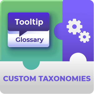Tooltip Glossary Custom Taxonomies Add-On for WordPress by CreativeMinds