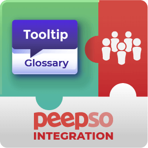 CM Tooltip Glossary PeepSo Integration