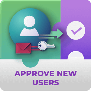 Registration Approve New Users