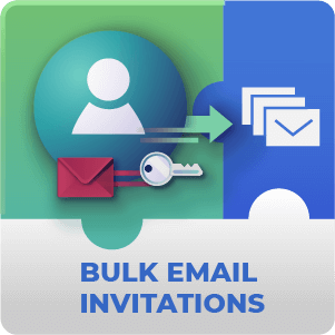 Registration Bulk Email Invitation Addon for WordPress