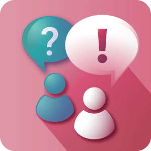 Answers icon - Course LMS Solution - Creative Minds
