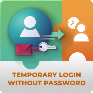 Temporary Login Without Password