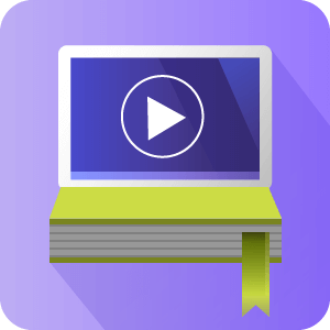 Video Lessons Manager icon - Video Library Solution - CreativeMinds