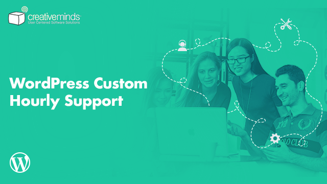 Custom Hourly Support Package for WordPress by CreativeMinds video placeholder