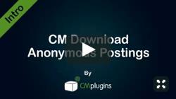 CM Downloads BBPress Integration AddOn for WordPress by CreativeMinds video placeholder