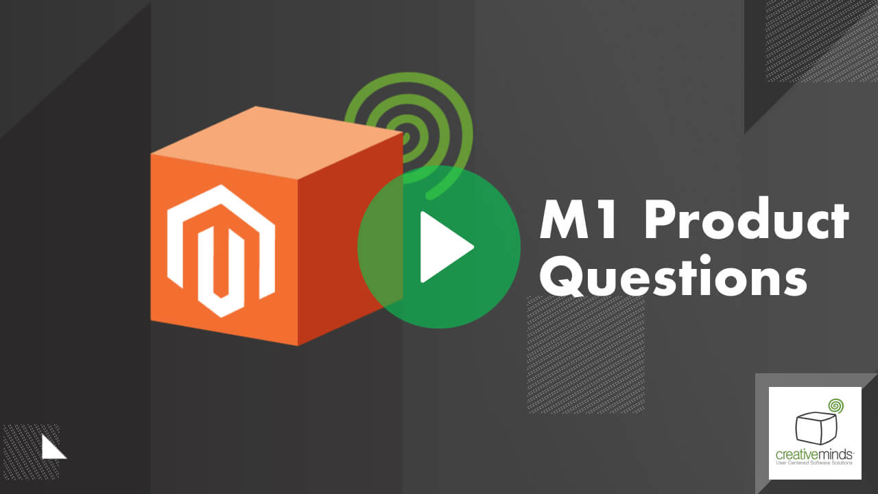Product Questions Extension for Magento® 1 by CreativeMinds video placeholder