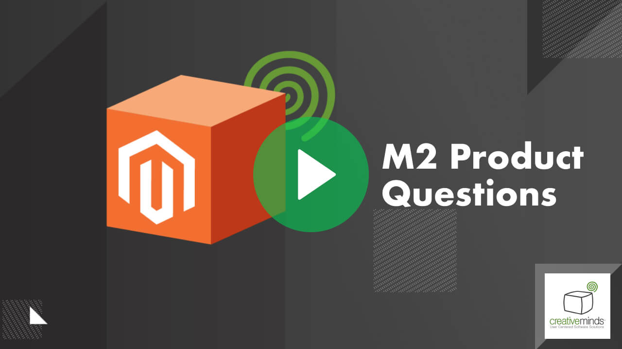 Product Questions Extension for Magento® 2 by CreativeMinds video placeholder