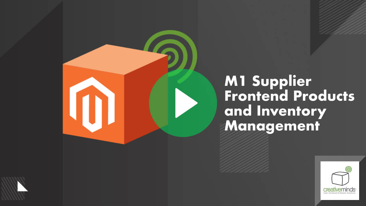 Supplier Frontend Product Upload Extension for Magento® by CreativeMinds video placeholder