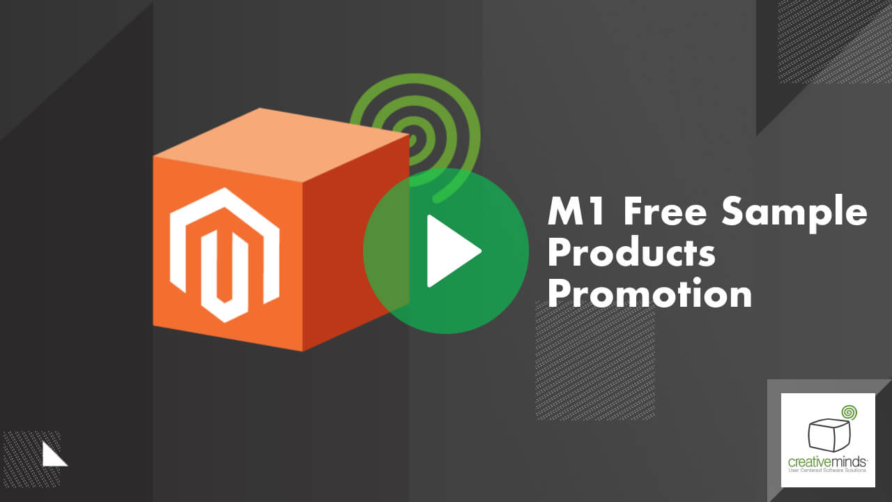 Free Sample Products  Extension for Magento® by CreativeMinds video placeholder
