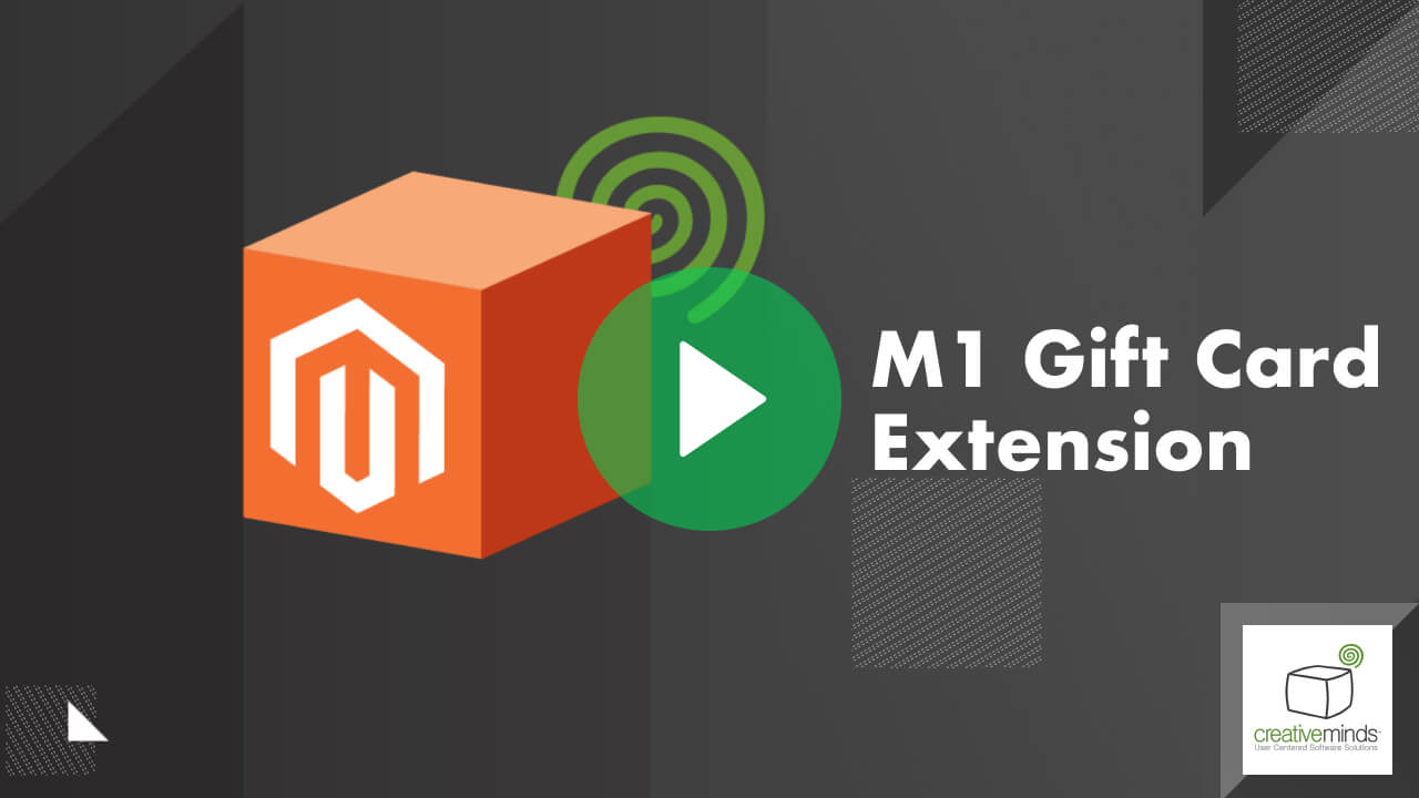 Gift Card Extension for Magento® by CreativeMinds video placeholder