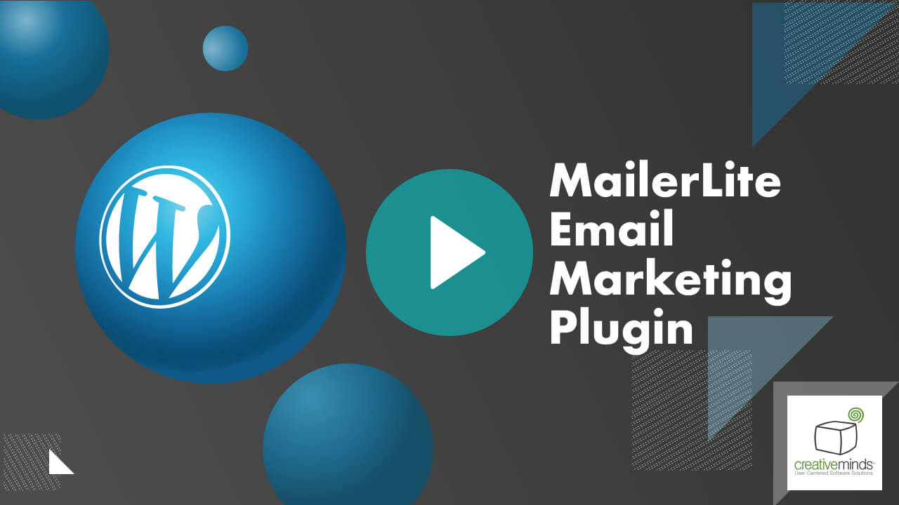 MailerLite Email Marketing for Easy Digital Download (EDD) WordPress Plugin by CreativeMinds video placeholder