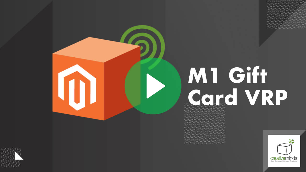 Gift Card VRP Extension for Magento® by CreativeMinds video placeholder