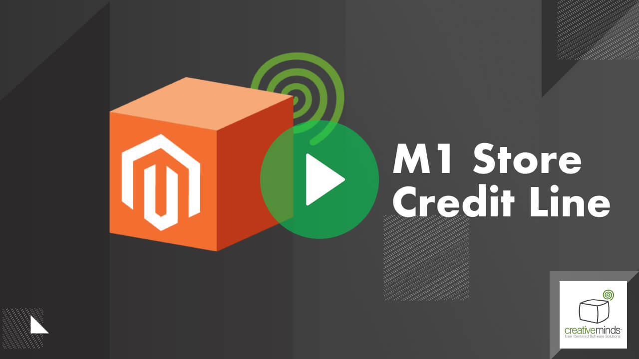 Store Credit Line Extension for Magento 1 by CreativeMinds video placeholder