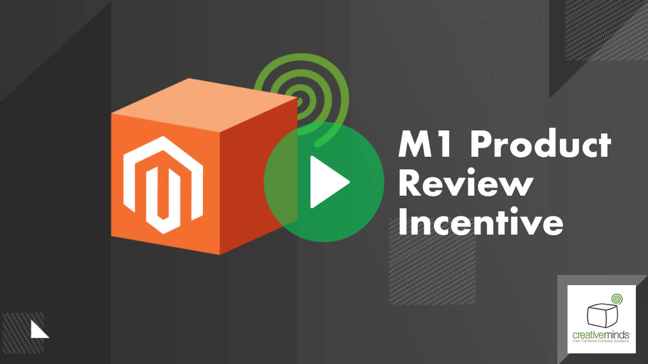 Product Review Incentive Coupon Extension for Magento® by CreativeMinds video placeholder