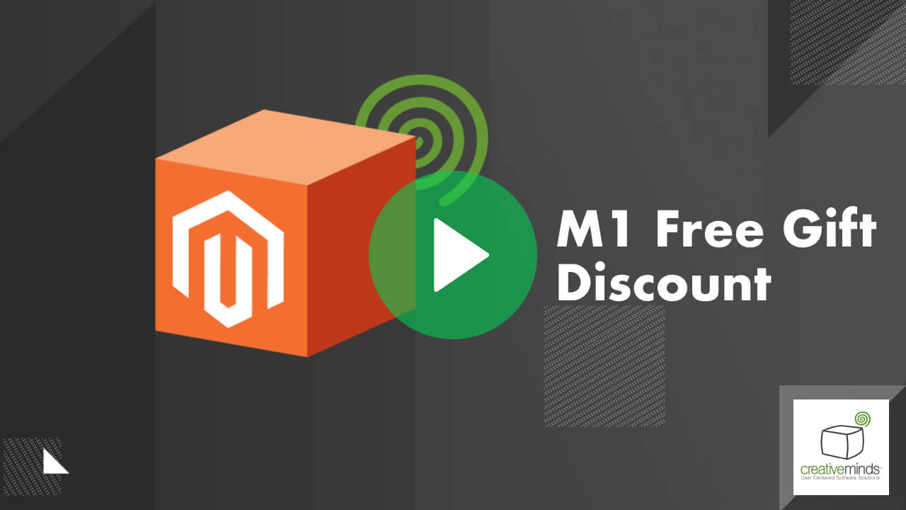 Free Gift Incentive Extension for Magento® by CreativeMinds video placeholder
