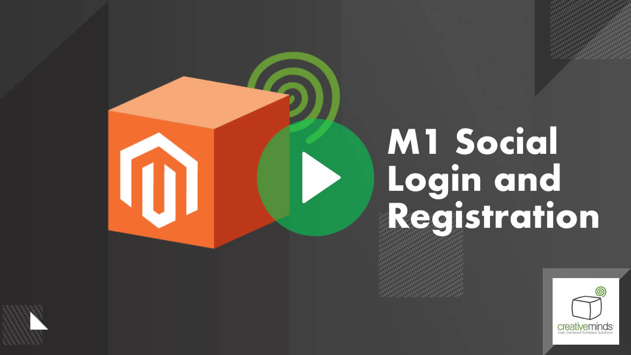 Social Login Extension for Magento® by CreativeMinds video placeholder