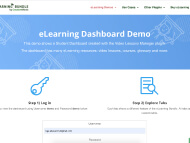 eLearning Dashboard