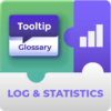 Tooltip Glossary Log & Statistics Add-On for WordPress by CreativeMinds